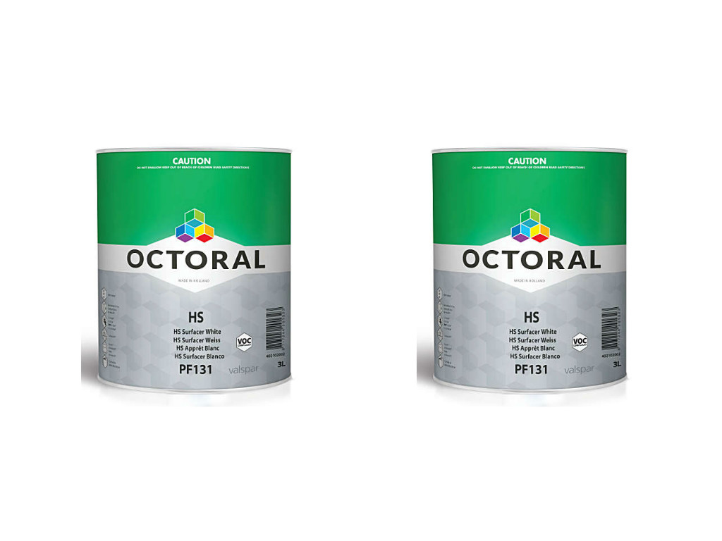 Octoral 2K HS Surfacer PF131 Grey 2 x 3LT
